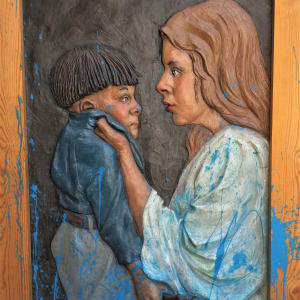 """""""Mother Scolding Son"""" by Graham Ibbeson by Graham Ibbeson"""