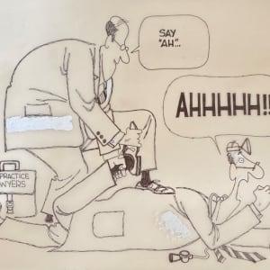 #Malpractice Lawyers vs Doctors by Steve Kelley