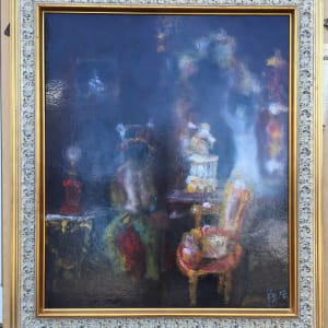 """""""l'Atelier"""" (The sitting room) by Stephane Le Grec by Stephane Le Grec"""