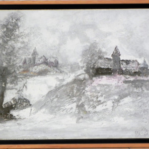 """""""Winter Scene"""" by Stephane Le Grec by Stephane Le Grec"""