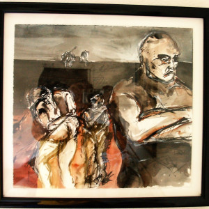 """""""Untitled Watercolor"""" by Barry Ebner by Barry Ebner"""