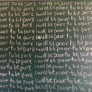 """""""I will be poor to be pure"""" by Brandon Paris by Brandon Paris"""