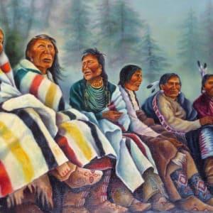"""Tribal Council"" by Sandra Fraser-Dust by Sandra (Fraser) Dust"