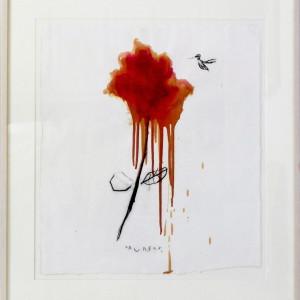 """Hummingbird at Feeding"" by Todd Murphy by Todd Murphy"