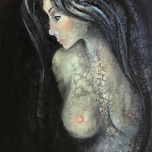 Lady in Black by Ansley Pye