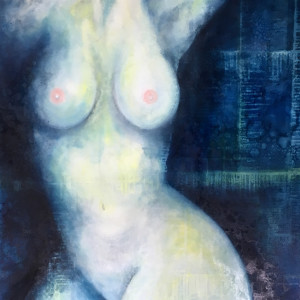 Out of the Blue IV  La Grande by Ansley Pye