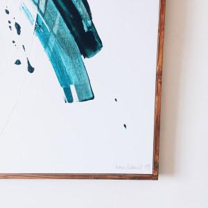 Sligo. Turquoise, Black/Plum