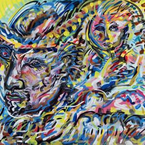 Farmer with Child by Jimmy Longoria