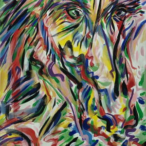 Caballo Series - Watchful Prudence by Jimmy Longoria