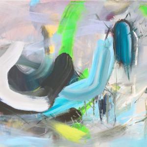 Wind & Flood 2 by Lesley Birch