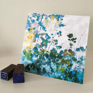 greeting card square by caroline fraser