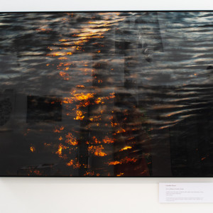 Fire on Water 4 , 1 of 5 by caroline fraser
