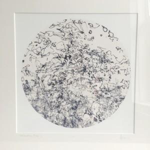 Conversation Piece 1. 30cm print. by caroline fraser