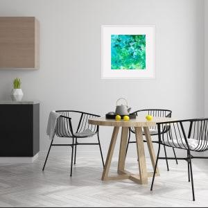 'Rain dance 8'  1 of 5  50x50cm framed print