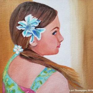 Hawaiian Girl by Lori Thompson