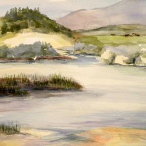 Carmel Lagoon by Judy Willis