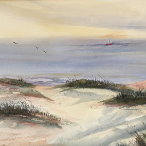 Asiloma Sailing by Judy Willis