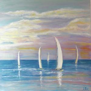 Sailboats of Santa Cruz