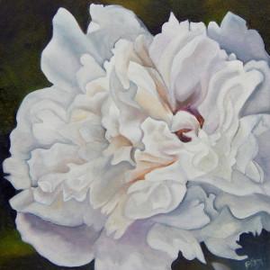 Pale Peony by Emma Knight