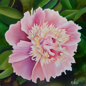 Pink Peony by Emma Knight