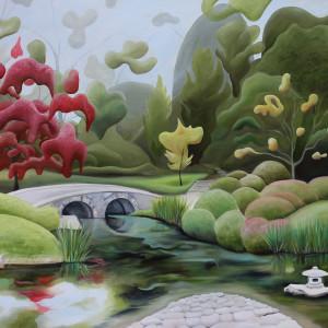 Maymont's Japanese Garden VI by Emma Knight