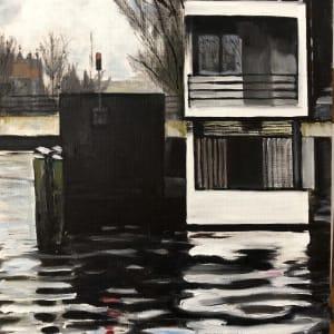 Mondriaans Lock House by Judith Ansems Art