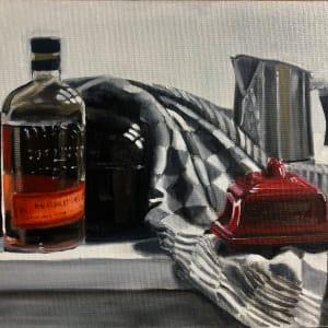 Bourbon for breakfast by Judith Ansems Art