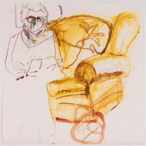 YELLOW CHAIR by Fran White
