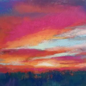 Sunset II - Celebration by Monika Gupta