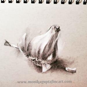 Humble Garlic by Monika Gupta