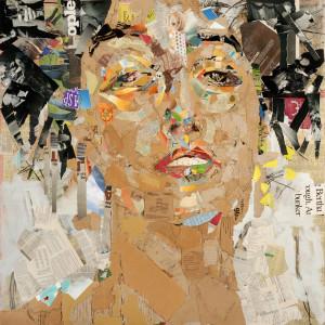 Visage (After Klimt's Muse)