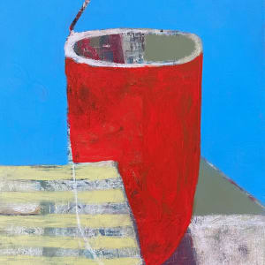 Vessel On Table Abstracted by Michael Gadlin