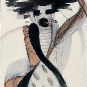 African Woman Carrying Vessel by Michael Gadlin