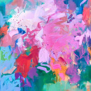 Bright Bloom Bomb by Michelle Marra