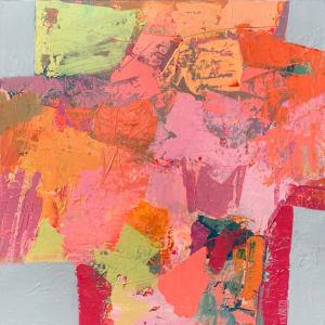 Crossroads - Orange by Michelle Marra