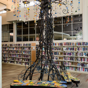 Beneath the Ogirishi Tree: The Journey Projects at Wolf Creek Library by Lynn Marshall-Linnemeier