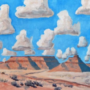 Desert Clouds #1 by Cate Crawford and Wilson Crawford