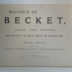 Becket (England) by Alfred Lord Tennyson