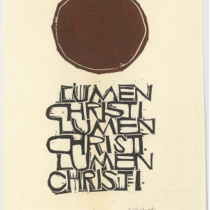 Lumen Christi by Meinrad Craighead