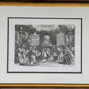 Magnificat by Jan Sadeler