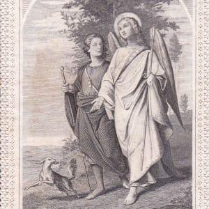 S. Raphel Archangelus by Carl Friedrich Seifert