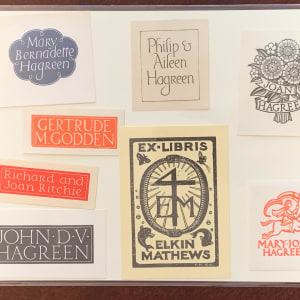 Bookplates by Philip Hagreen