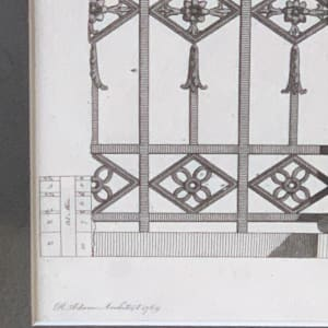 Sion House - Parts at Large of the Gateway by Robert Adam