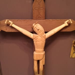 Crucifix by George Lopez