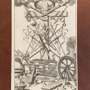 De Martel-tuigen tot een Overwinning-Teeken aen't kruis-Hout opgehangen by Gilliam van der Gouwen
