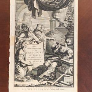 Voor-bereidselen Tot de Bybelsche Wysheid, en Gebruik der Heilige en Kerkelijke Historien by Jan Luyken