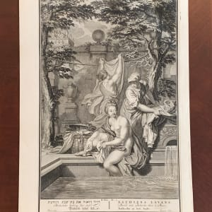 Bethsheba bathing her self by Balthasar Bernards
