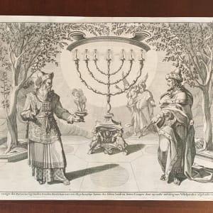 Het Gezigte dat Zacharias by Wilhelm Swinde