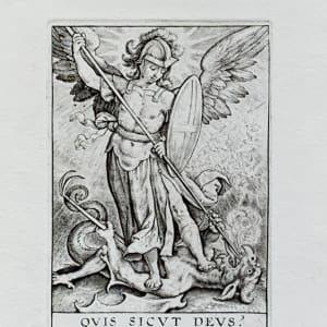 Quis Sicut Deus? by Hieronymous Wierx