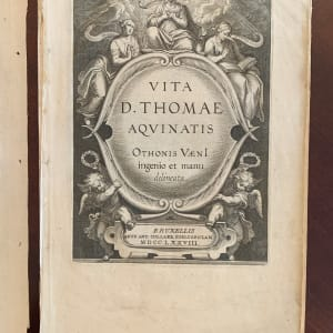 Vita d. Thomae Aquinatis by Otto Vaenius